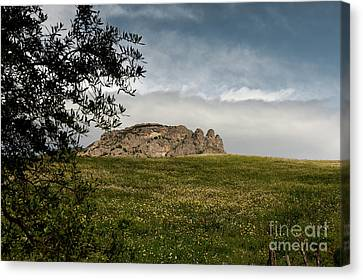 Italy, Calabria, Cimina,the Three Fingers Canvas Print by Bruno Spagnolo