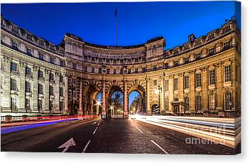 The Three Gates Canvas Print by Giuseppe Torre