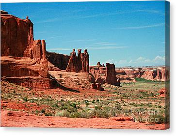 The Plateaus Canvas Print - The Three Gossips by Corey Ford