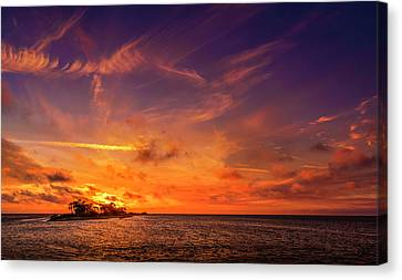 Gorgeous View Canvas Print - The Three Hour Tour by Marvin Spates