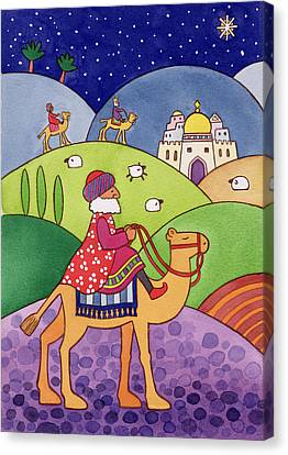Three Kings Canvas Print - The Three Kings by Cathy Baxter