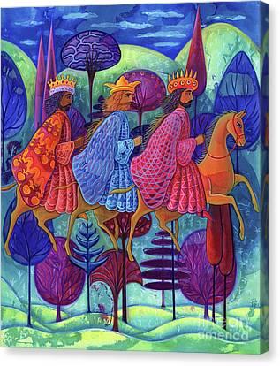 The Three Kings Christmas Canvas Print