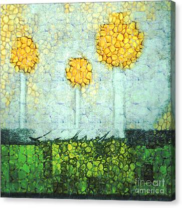 The Three Trees - Y2901b Canvas Print by Variance Collections