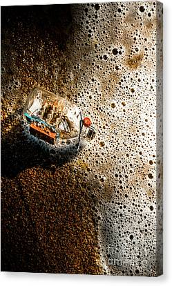 Water Vessels Canvas Print - The Tide And Its Takers by Jorgo Photography - Wall Art Gallery