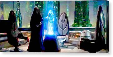 The Time Has Come Commander - Da Canvas Print by Leonardo Digenio