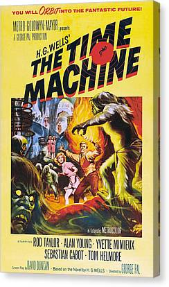 The Time Machine, From Left Center Canvas Print by Everett