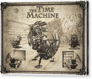 The Time Machine Canvas Print by Robert Slack