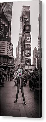 The Times Of Marilyn Canvas Print