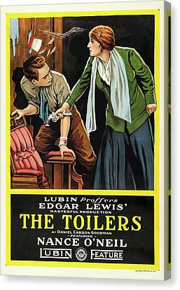 The Toilers 1916 Canvas Print by Mountain Dreams