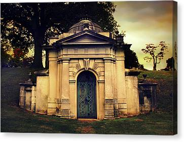 The Tomb Of Woodlawn Canvas Print by Jessica Jenney