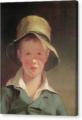 Hat Canvas Print - The Torn Hat by Thomas Sully