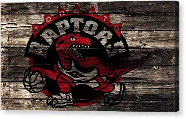 Vince Carter Canvas Print - The Toronto Raptors 2a by Brian Reaves