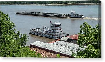 The Towboat Buckeye State Canvas Print