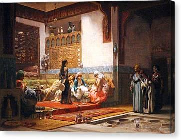 The Trade Canvas Print by Munir Alawi