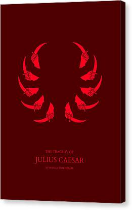 The Tragedy Of Julius Caesar Canvas Print by Nicholas Ely