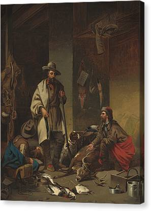 The Trappers Canvas Print