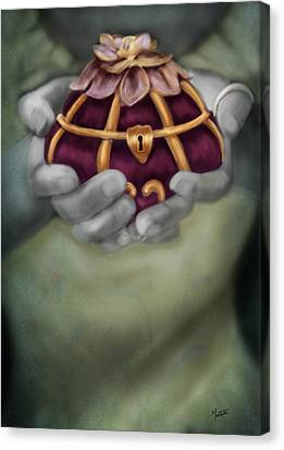The Treasure Box  Canvas Print by Maggie Terlecki