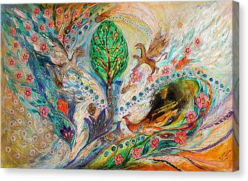 The Tree Of Life Keepers Canvas Print