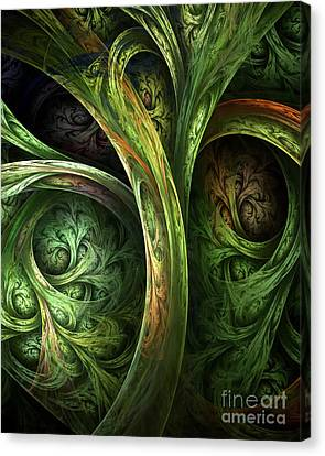 The Tree Of Life Canvas Print by Olga Hamilton