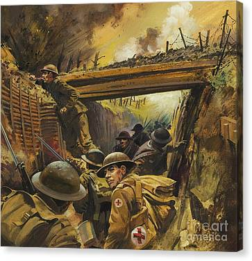 The Trenches Canvas Print