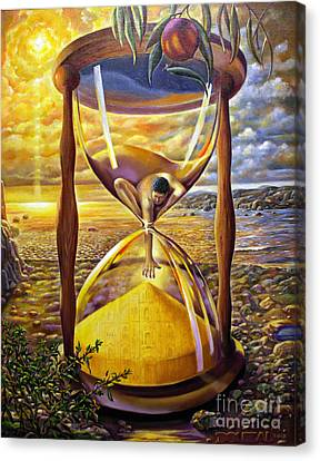 The Trial Of Time Canvas Print by Alfred Dolezal