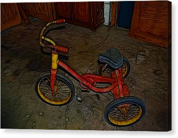 The Tricycle Canvas Print
