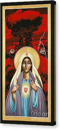 The Triumph Of The Immaculate Heart Of Mary 145 Canvas Print by William Hart McNichols
