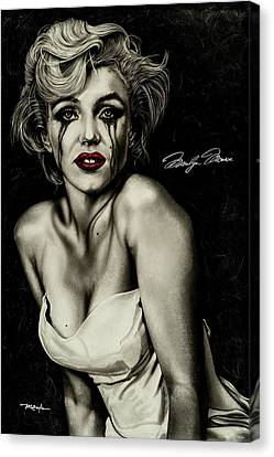 The True Marilyn Canvas Print