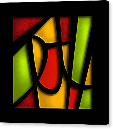 The Truth - Abstract Canvas Print by Shevon Johnson