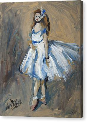 The Truth Lies Between Aguste Renoir And Marlene Dumas Canvas Print by Nop Briex