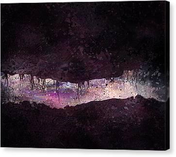 The Tunnel Canvas Print by Rachel Christine Nowicki