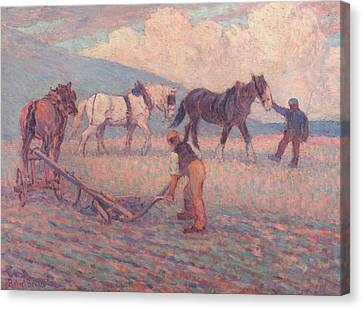 The Turn Rice-plough, Sussex Canvas Print