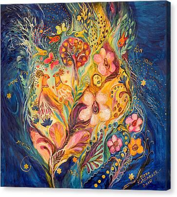 The Twilight Time Canvas Print by Elena Kotliarker