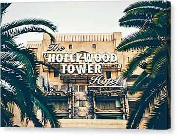 Hollywood Studios Canvas Print - The Twilight Zone Tower Of Terror by Unsplash