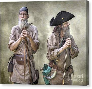The Two Frontiersmen  Canvas Print by Randy Steele