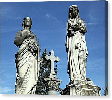 The Two Mary's Canvas Print by James DeFazio