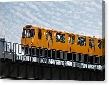 Bahn Canvas Print - The U 1 by Nathan Wright