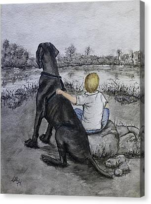 The Ultimate Best Friend Canvas Print by Kelly Mills