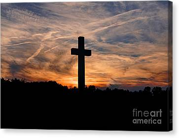 The Ultimate Sacrifice Canvas Print by Benanne Stiens