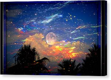 The Universal Moon Canvas Print