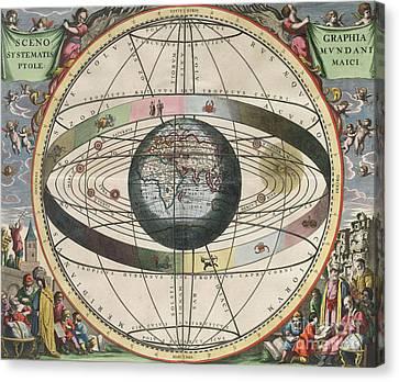 The Universe Of Ptolemy Harmonia Canvas Print