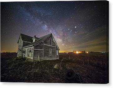 The Unknown Canvas Print by Aaron J Groen
