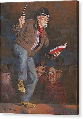 Art Of Mia Delode Canvas Print - The Unredeemables by Mia DeLode