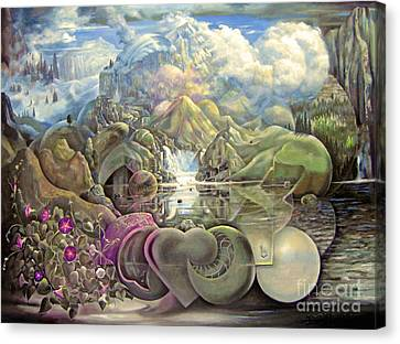 The Unseen Reality Canvas Print by Alfred Dolezal