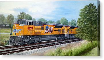 The Up 8690 Canvas Print