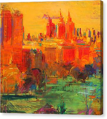 The Upper West Side Canvas Print by Peter Graham