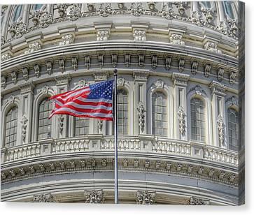 The Us Capitol Building - Washington D.c. Canvas Print