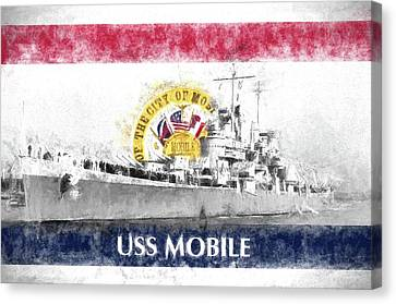 The Uss Mobile Canvas Print