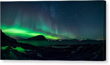 The Valkyrior Canvas Print by Tor-Ivar Naess