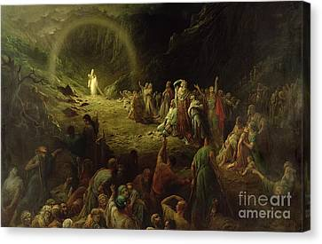 The Valley Of Tears Canvas Print by Gustave Dore